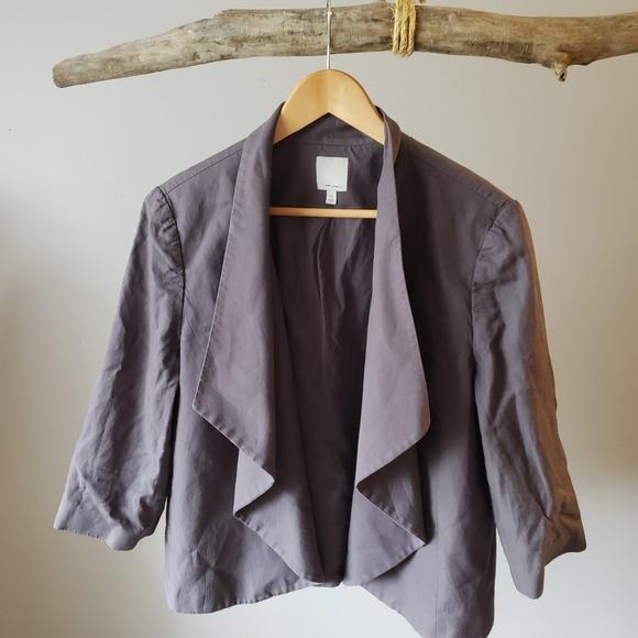 Halogen Jackets & Blazers - Lavender grey 3/4 leave blazer Halogen Xl